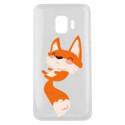 Чехол для Samsung J2 Core Happy fox