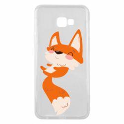 Чехол для Samsung J4 Plus 2018 Happy fox