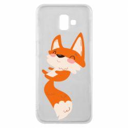 Чехол для Samsung J6 Plus 2018 Happy fox