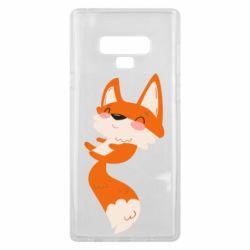 Чехол для Samsung Note 9 Happy fox