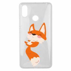 Чехол для Xiaomi Mi Max 3 Happy fox