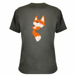 Камуфляжная футболка Happy fox