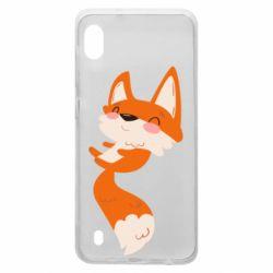 Чехол для Samsung A10 Happy fox
