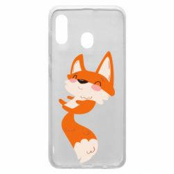 Чехол для Samsung A30 Happy fox