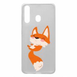 Чехол для Samsung A60 Happy fox