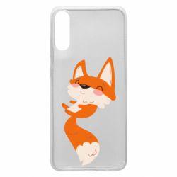 Чехол для Samsung A70 Happy fox