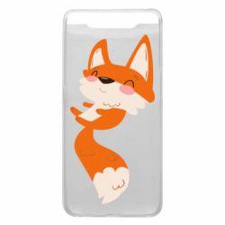Чехол для Samsung A80 Happy fox