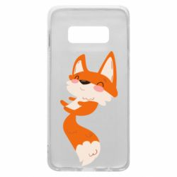 Чехол для Samsung S10e Happy fox