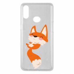 Чехол для Samsung A10s Happy fox