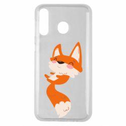 Чехол для Samsung M30 Happy fox