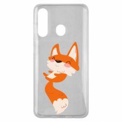 Чехол для Samsung M40 Happy fox