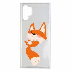 Чехол для Samsung Note 10 Plus Happy fox