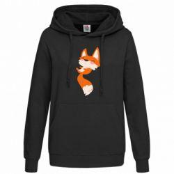 Женская толстовка Happy fox