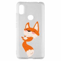 Чехол для Xiaomi Redmi S2 Happy fox