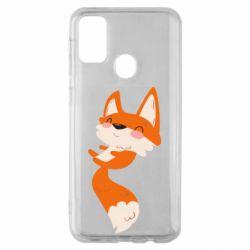 Чехол для Samsung M30s Happy fox