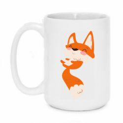 Кружка 420ml Happy fox