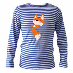 Тельняшка с длинным рукавом Happy fox