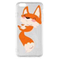Чехол для iPhone 6 Plus/6S Plus Happy fox