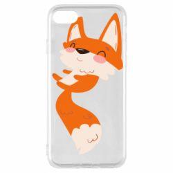 Чехол для iPhone 7 Happy fox