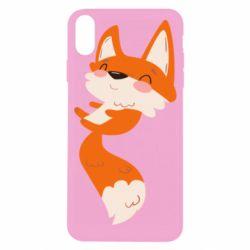 Чехол для iPhone X/Xs Happy fox