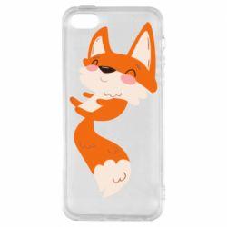 Чехол для iPhone5/5S/SE Happy fox