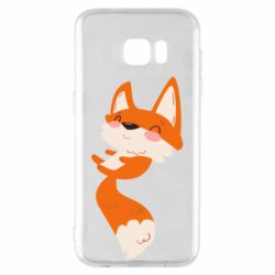 Чехол для Samsung S7 EDGE Happy fox