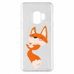 Чехол для Samsung S9 Happy fox