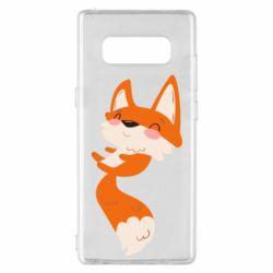 Чехол для Samsung Note 8 Happy fox