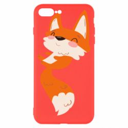 Чехол для iPhone 8 Plus Happy fox