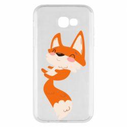 Чехол для Samsung A7 2017 Happy fox