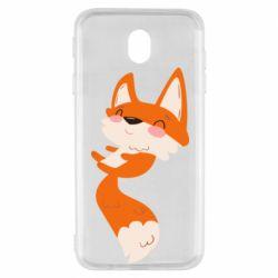 Чехол для Samsung J7 2017 Happy fox
