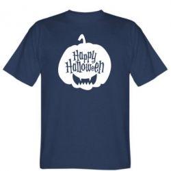 Чоловіча футболка Happy halloween smile