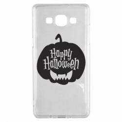 Чохол для Samsung A5 2015 Happy halloween smile