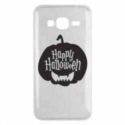 Чохол для Samsung J3 2016 Happy halloween smile