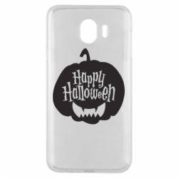 Чохол для Samsung J4 Happy halloween smile