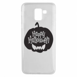 Чохол для Samsung J6 Happy halloween smile