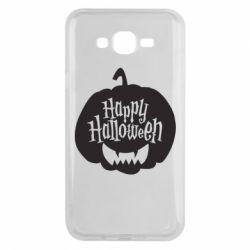 Чохол для Samsung J7 2015 Happy halloween smile