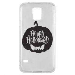Чохол для Samsung S5 Happy halloween smile