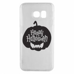 Чехол для Samsung S6 EDGE Happy halloween smile