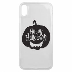 Чехол для iPhone Xs Max Happy halloween smile