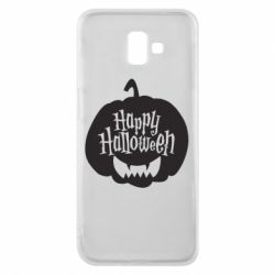 Чехол для Samsung J6 Plus 2018 Happy halloween smile