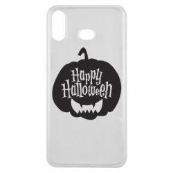 Чохол для Samsung A6s Happy halloween smile