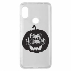 Чехол для Xiaomi Redmi Note 6 Pro Happy halloween smile