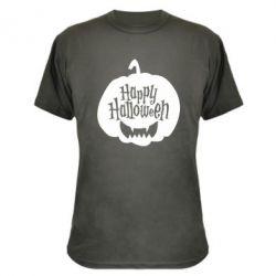 Камуфляжна футболка Happy halloween smile