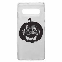 Чохол для Samsung S10+ Happy halloween smile