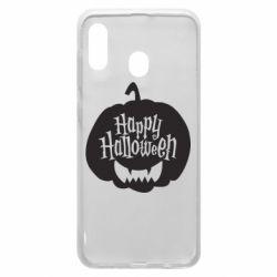 Чохол для Samsung A20 Happy halloween smile