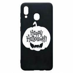 Чохол для Samsung A30 Happy halloween smile