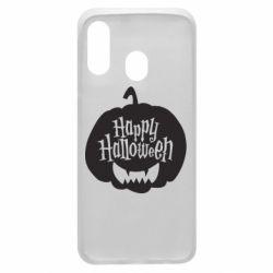 Чохол для Samsung A40 Happy halloween smile