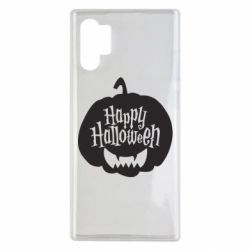 Чехол для Samsung Note 10 Plus Happy halloween smile