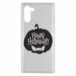 Чохол для Samsung Note 10 Happy halloween smile